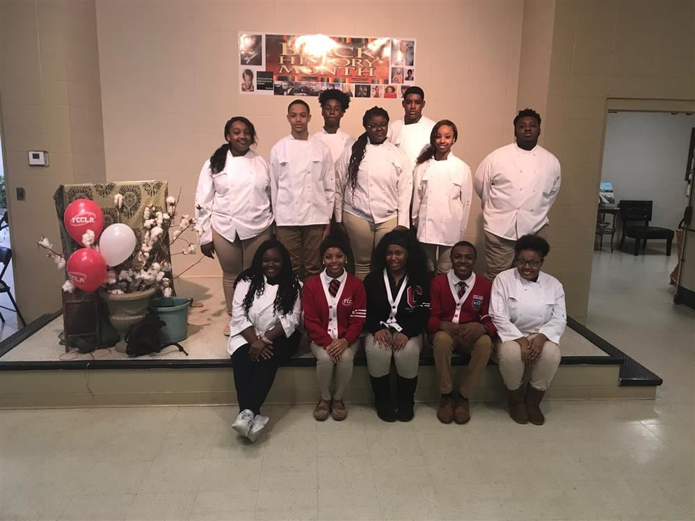 FCCLA and Culinary Do Community Service at SLA Jones