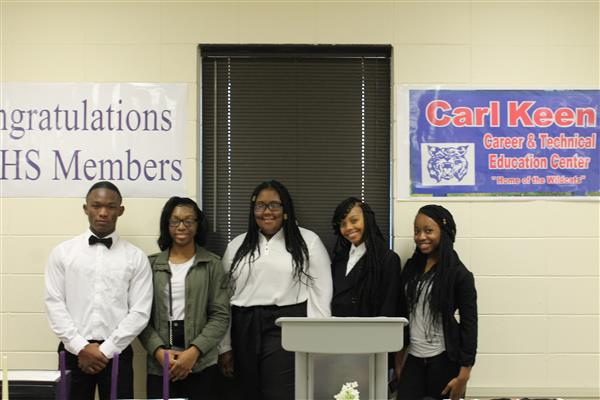 NTHS/CTE Ambassadors Induction Ceremony