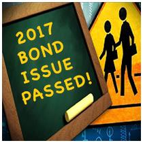 Thank you for passing the 2017 Bond Proposal
