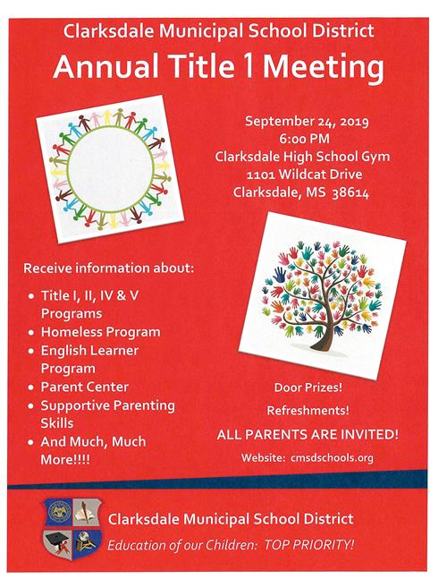Annual Title I Meeting